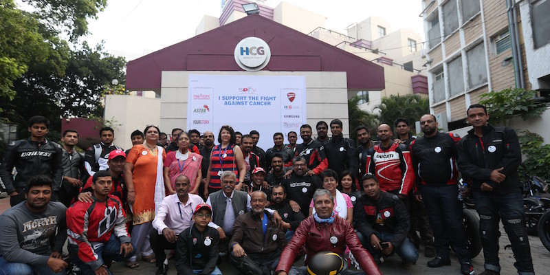PinkHope and Ducati Owners Club kick off 3rd edition of Self V Survivor Stories
