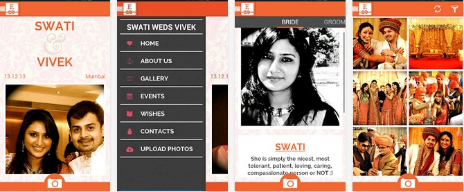 Euphoriq enters the big fat indian wedding app market selling a paid mobile app to indian users junglespirit Images