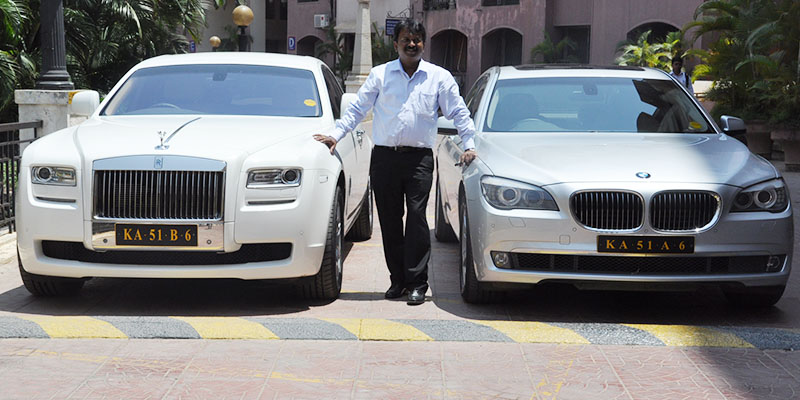 Ramesh Babu, the barber who owns a Rolls Royce