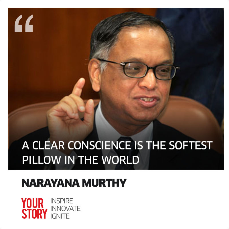 personality analysis narayana murthy When n r narayana murthy spoke at wharton's mba commencement on may 20, he chose to title his remarks reflections of an entrepreneur the word 'entrepreneur' hardly does justice to murthy, c.
