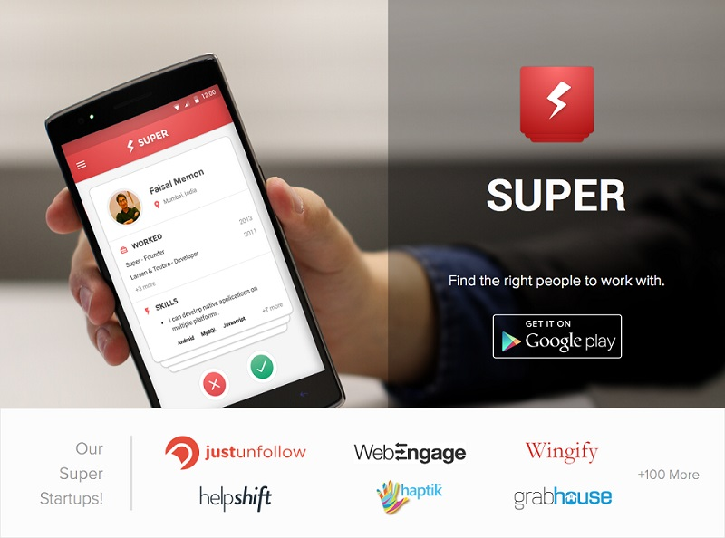 Super The Mobile Only Tinder For Jobs Wants To Shake Up The Jobs