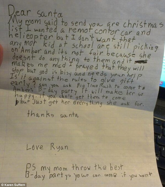 10 letters from kids to santa claus that will make your heart sing