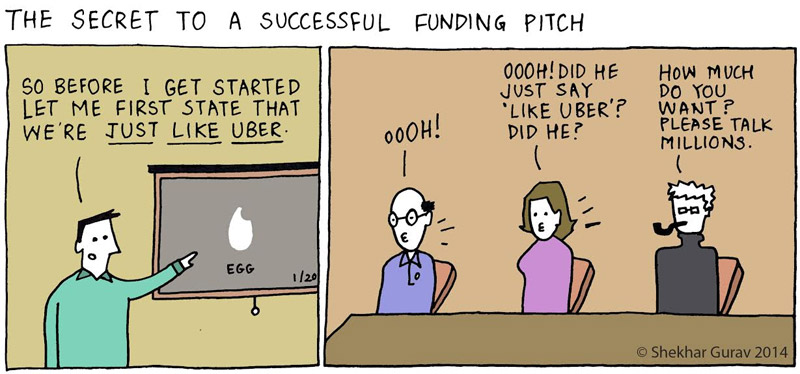 The secret to a successful funding pitch